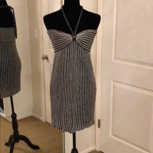 Missoni Dresses - MISSONI metallic halter dress tie dress